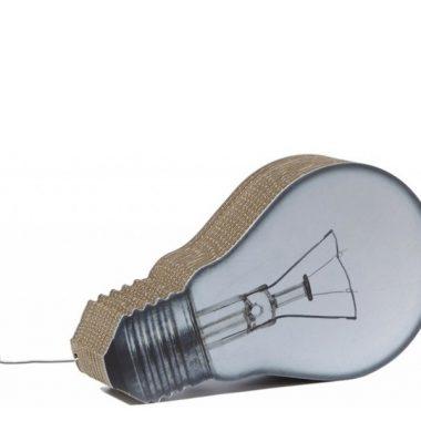cardboard bulbs