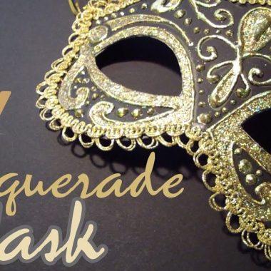 DIY masqurade masks