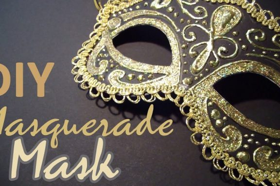DIY masqurade masks