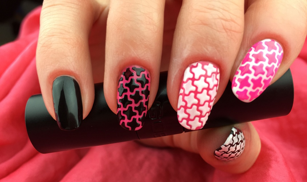 DIY nail stencils